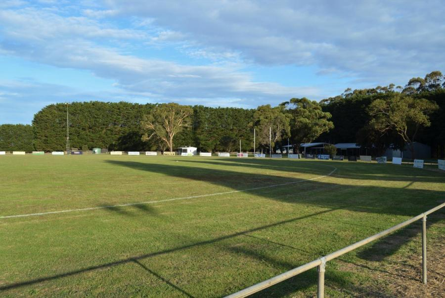 Simpson Oval will remain empty for the foreseeable future. Photo: Courtney Santospirito