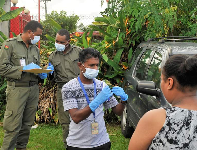 Fiji health checks are ongoing around the country in an effort to combat Covid-19.
