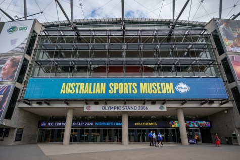 The Australian Sports Museum, Melbourne Cricket Ground Photo: Edward H Blake (CC BY 2.0)