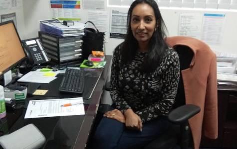 Melbourne GPs like Dr Sharaniya Navaratnam have moved to tele-health to care for their patients. Photo: Sasha Vaz