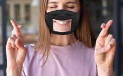 Navigation to Story: Not all heroes wear capes: some design inclusive face masks