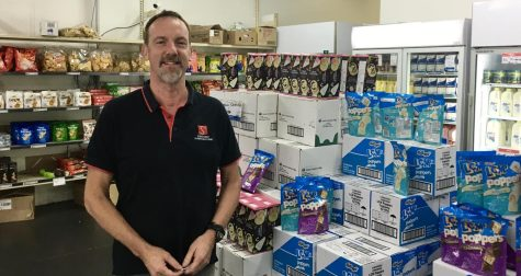 Brian Bakes says pensioners, single parents and rough sleepers are the most likely customers at his low-cost grocery store