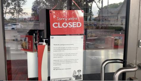 Pandemic forces Flight Centre store closures and two-thirds of staff were either stood down or made redundant.