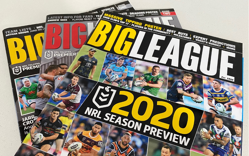 Big League magazine ceases publishing due to Covid-19