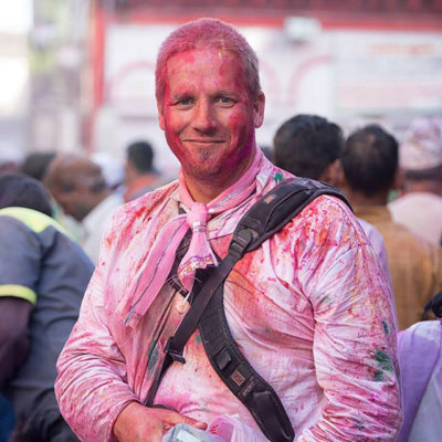 Portrait and travel photographer Glynn Lavender. Photo: supplied