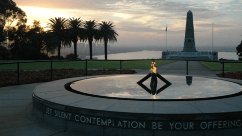 Only 10,000 people can attend the Kings Park ANZAC Day Dawn Service in 2021. Picture: BGWA