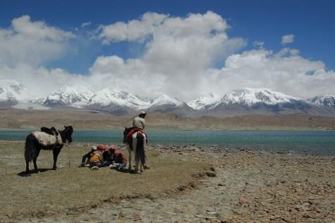 Uighur horsemen in Xinjiang province. Photo: Richard Weil (CC BY-SA 2.0)