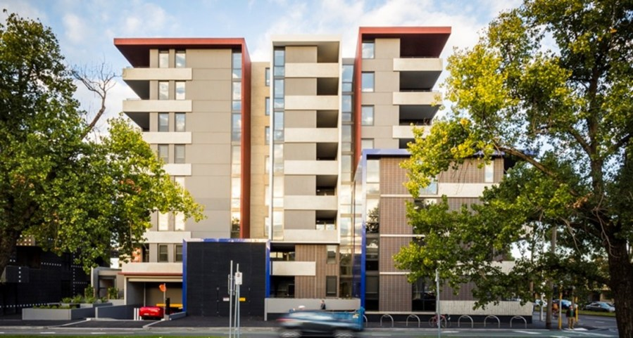 A proposed block of flats as part of the $5.3 billion Big Housing Build.