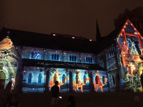 St George's Cathedral during Christmas 2020 – a time that many people of faith spent in lockdown across the globe. Picture: Meleva Thorn