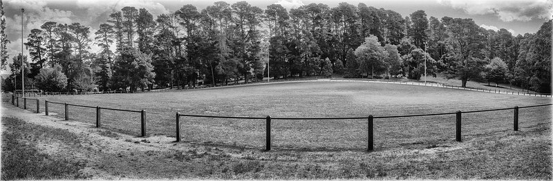 Football oval at Kalorama Reserve in Victoria's Dandenong Ranges. Photo: R Reeve (CC BY-ND 2.0)