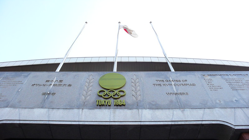 The 1964 Olympic Stadium in Tokyo. Photo: Photo: Shuets Udono (CC BY-SA 2.0)