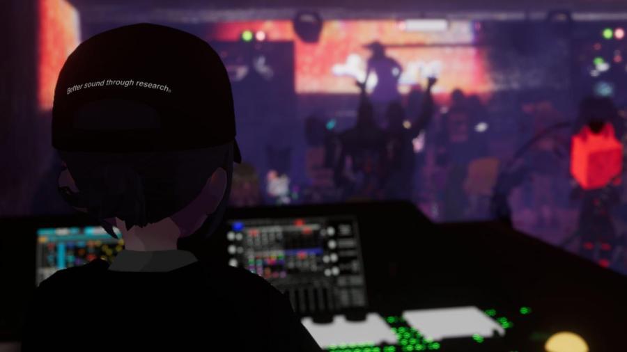 virtual reality nightclub