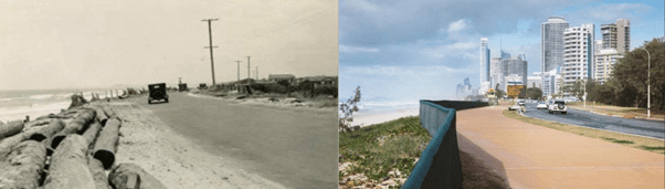 surfers paradise past and present