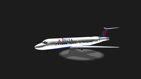 SimplePlanes Boeing 717200 Delta Airlines Livery