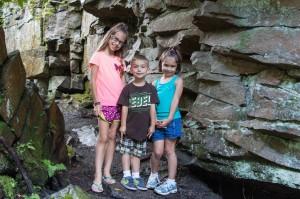 summer at swallow falls park