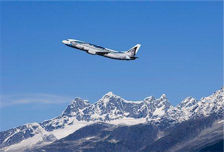 jet plane for flight offset
