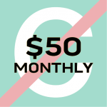 $50/month icon