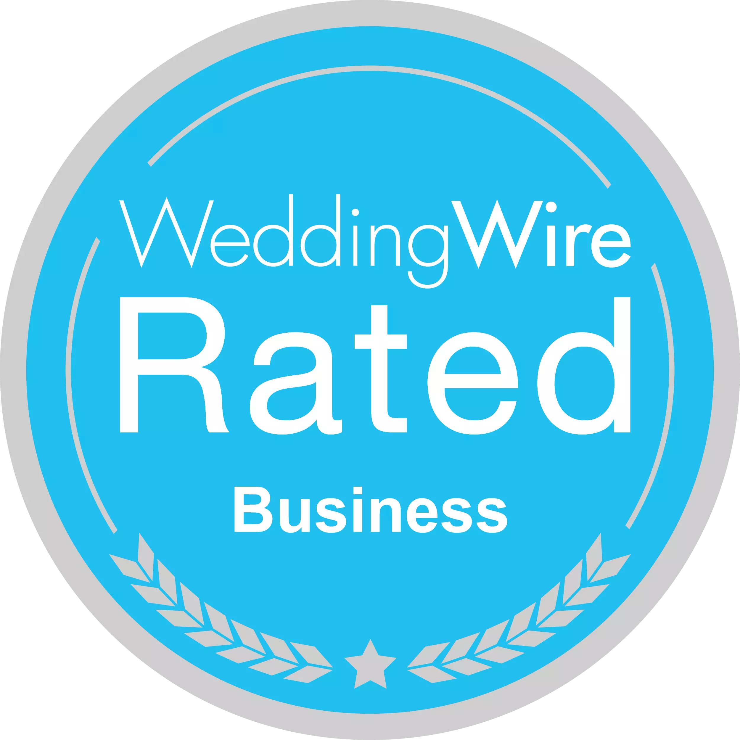 Badge: WeddingWire Rated