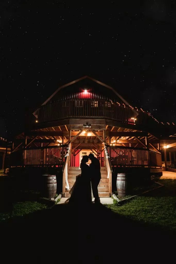 Fall barn wedding at SWJ's Emerald Hills in Edmore, MI.