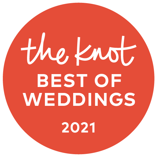 Badge: The Knot Best of Weddings 2021 Winner