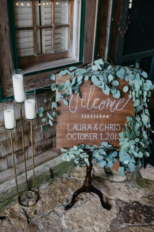 Eucalyptus Wedding Welcome Sign Wedding Inspiration Board Junebug Weddings