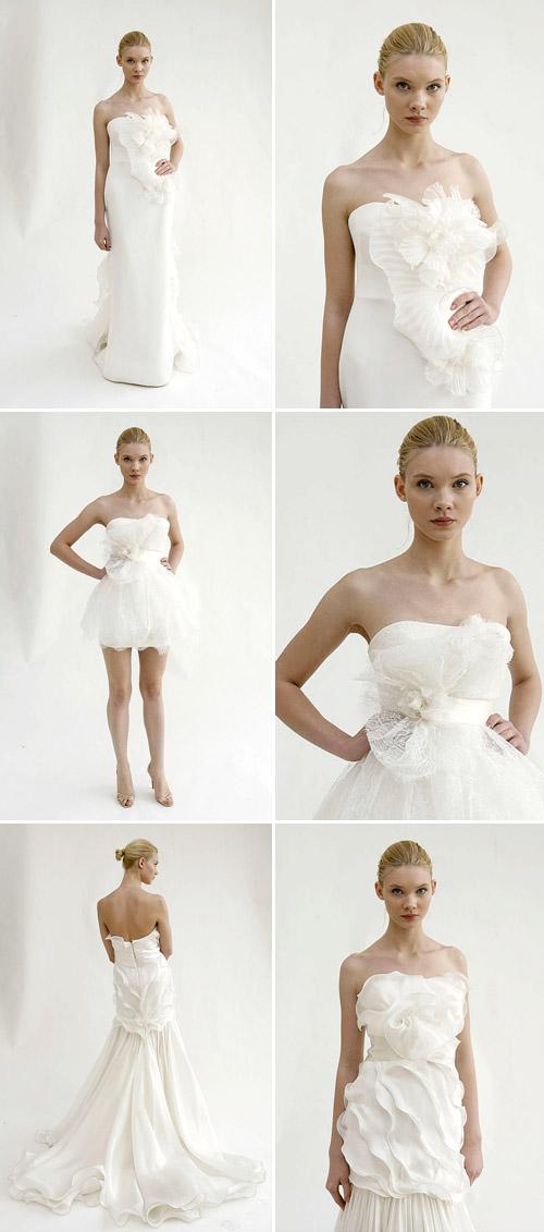 floral wedding dresses by marchesa