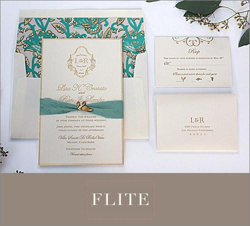Best Wedding Invitations of 2012  Junebug Weddings