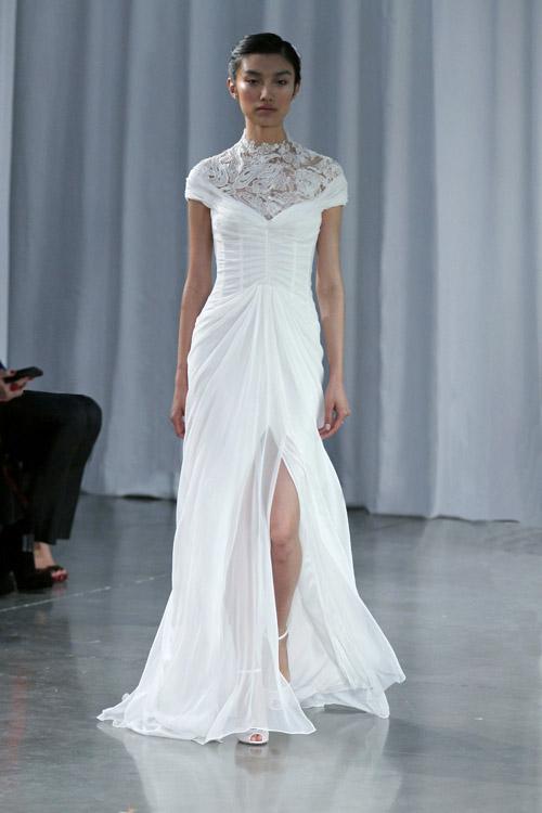 Monique Lhuillier Wedding Dresses Fall 2013 Junebug