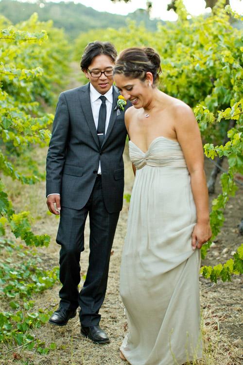 Elegant And Rustic Wedding At HammerSky Vineyard Junebug