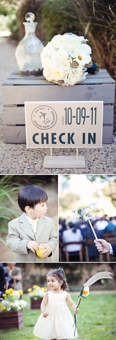 Vintage Airplane Themed Wedding in Mission Viejo CA ...