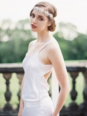 1920's inspired bridal hair accessories