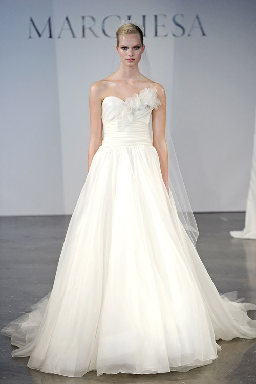 Wedding Dresses by Marchesa Spring 2014 Collection