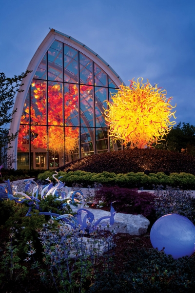 Chihuly Garden and Glass  wedding venue  Seattle