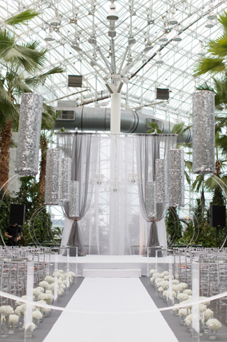 Crystal Gardens At Navy Pier Miller Miller Wedding