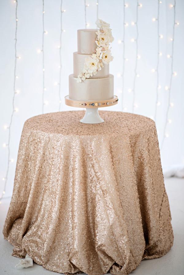 Gold Silver and Cream Wedding Color Inspiration  Junebug