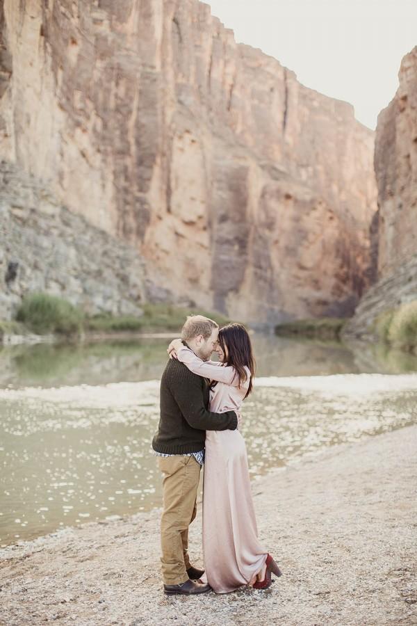 Desert Engagement At Big Bend National Park Junebug Weddings