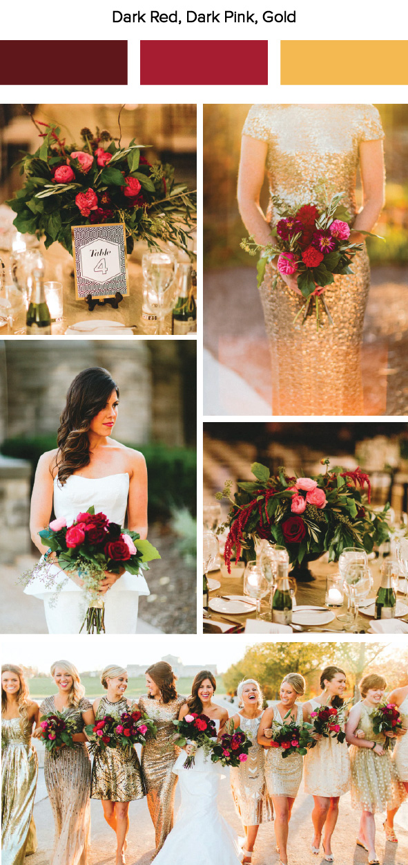 7 Fall Wedding Color Palette Ideas  Junebug Weddings