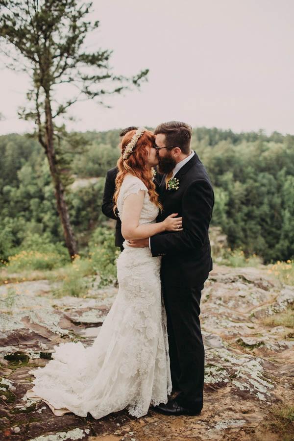 Intimate Arkansas Wedding at Petit Jean State Park