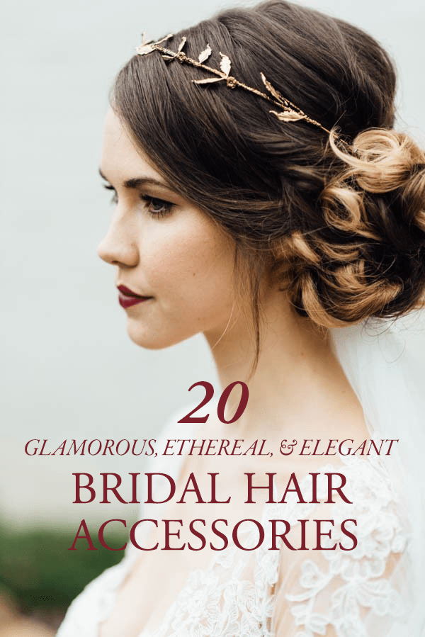 20 Glamorous Ethereal And Elegant Bridal Hair
