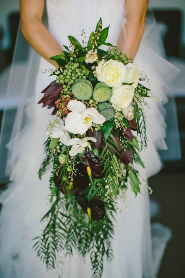 Zinnia Wedding Centerpieces