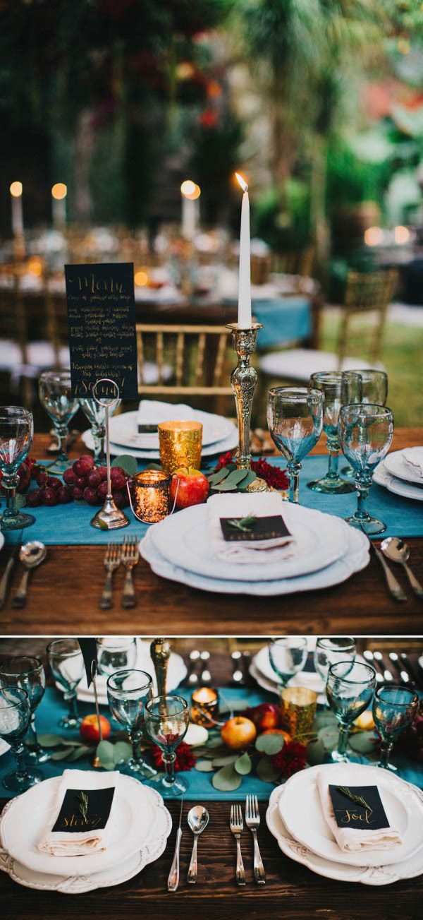 What To Put On Your Farm Table To Make Your Wedding Reception Beautifully Yours Junebug Weddings