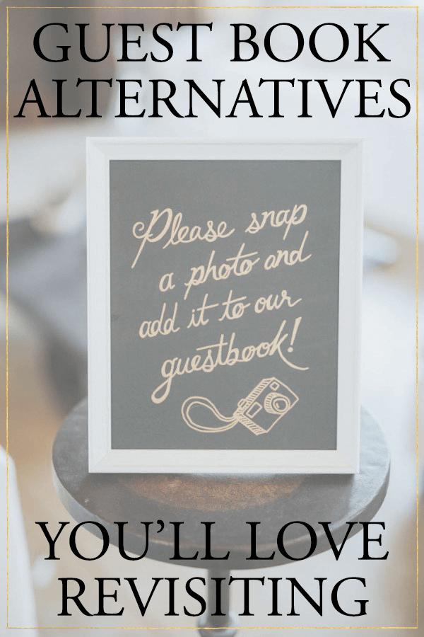 5 Creative Wedding Guest Book Alternatives Youll Love Revisiting  Junebug Weddings
