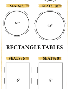 Keep in mind that you won   want to have anyone sitting at the heads of your rectangle tables also pro tips for creating wedding reception seating chart junebug rh junebugweddings