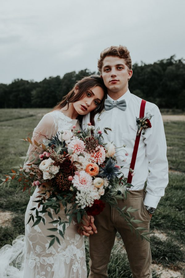 Rustic Fall Wedding Inspiration at The Farmstead in North