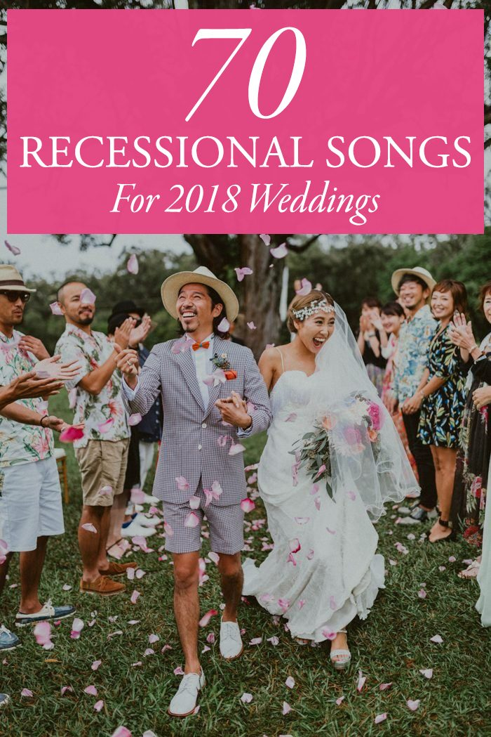 70 ceremony recessional songs