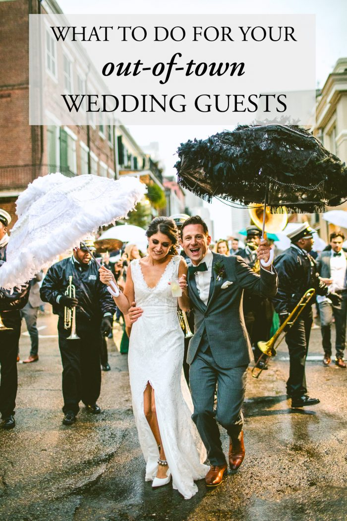 What to Do for Your OutofTown Wedding Guests  Junebug