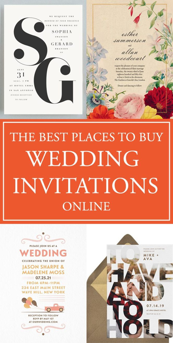The Best Places To Your Wedding Invitations Online