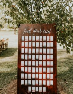 Photo by vic bonvicini see more from this wedding here also seating chart ideas junebug weddings rh junebugweddings