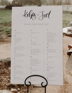 Photo by alyssa luzaich photography see more from this wedding here also seating chart ideas junebug weddings rh junebugweddings