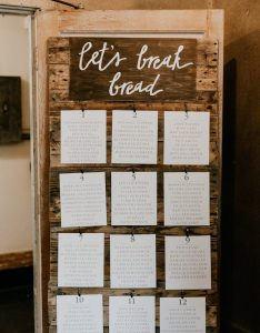 Photo by greg petersen event planning and floral design ferndale studio see more from this wedding here also seating chart ideas junebug weddings rh junebugweddings